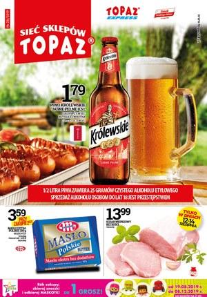 Gazetka promocyjna Topaz, ważna od 08.08.2019 do 21.08.2019.
