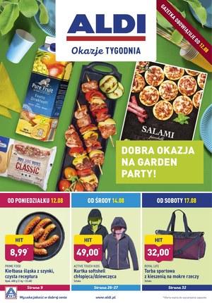 Gazetka promocyjna Aldi, ważna od 12.08.2019 do 17.08.2019.