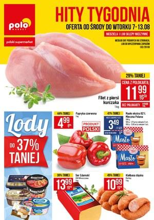 Gazetka promocyjna POLOmarket, ważna od 07.08.2019 do 13.08.2019.
