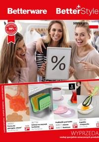 Gazetka promocyjna Betterware - BetterStyle - ważna do 31-08-2019