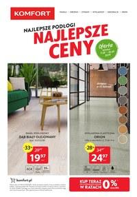 Gazetka promocyjna Komfort - Najlepsze podłogi - ważna do 10-09-2019
