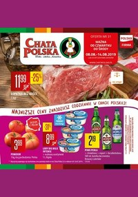 Gazetka promocyjna Chata Polska - Gazetka promocyjna - ważna do 14-08-2019