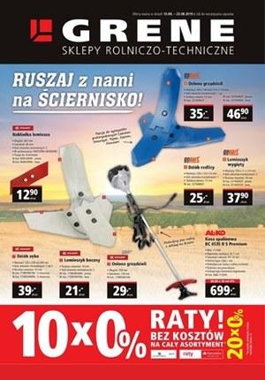 Gazetka promocyjna Grene, ważna od 10.08.2019 do 23.08.2019.