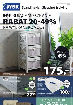 Gazetka promocyjna Jysk, ważna od 08.08.2019 do 21.08.2019.