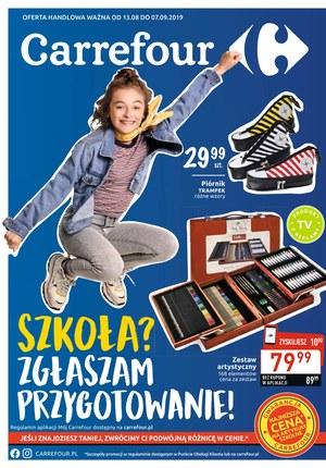 Gazetka promocyjna Carrefour, ważna od 13.08.2019 do 07.09.2019.