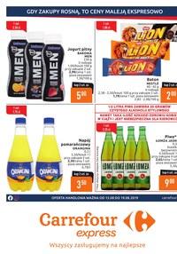 Gazetka promocyjna Carrefour Express, ważna od 13.08.2019 do 19.08.2019.