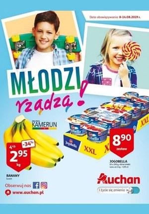 Gazetka promocyjna Auchan - Młodzi rządzą - hipermarkety
