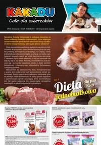 Gazetka promocyjna Kakadu - Dieta dla psa i kota jednobiałkowa  - ważna do 29-08-2019