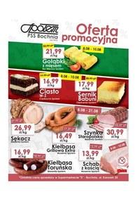 Gazetka promocyjna PSS Bochnia - Oferta promocyjna  - ważna do 10-08-2019