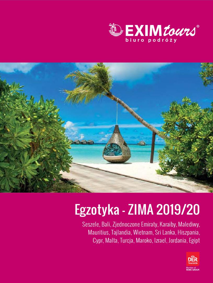 Gazetka promocyjna EXIM Tours - ważna od 01. 11. 2019 do 29. 02. 2020