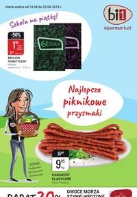Gazetka promocyjna bi1 - Najlepsze piknikowe przysmaki