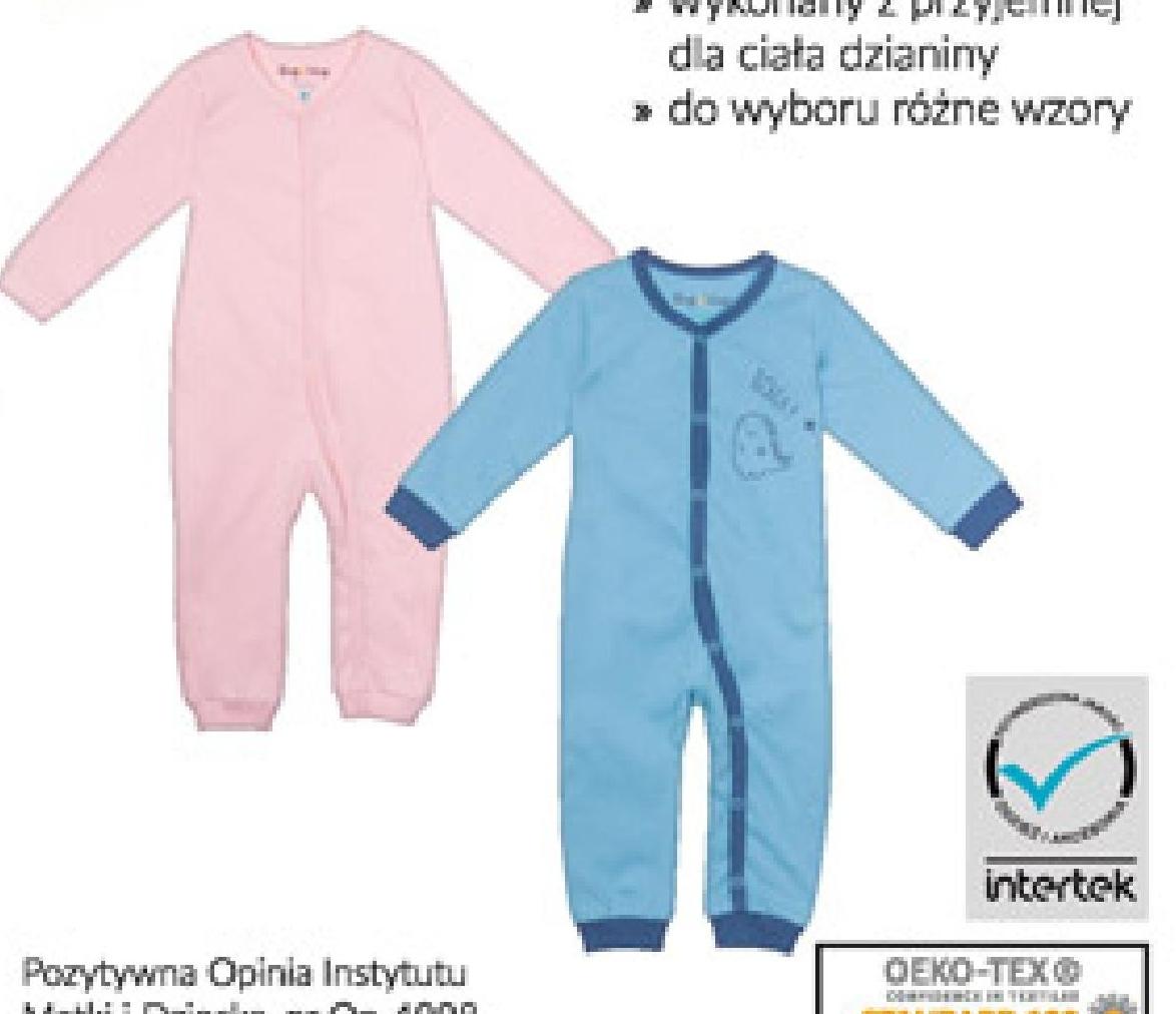 Pajac niemowlęcy niska cena
