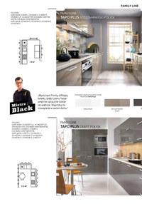 Gazetka promocyjna Black Red White - Katalog kuchni modułowych