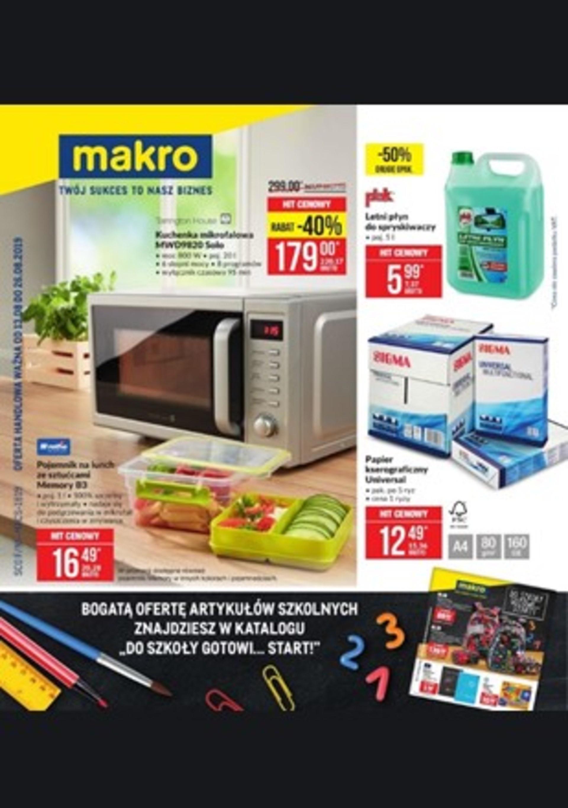 Gazetka promocyjna Makro Cash&Carry • Okazjum.pl • s.3 • 41906