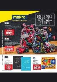 Gazetka promocyjna Makro Cash&Carry - Do szkoły gotowi... start!  - ważna do 26-08-2019