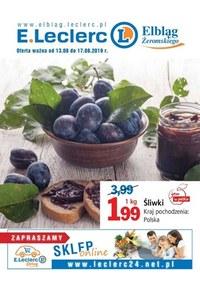 Gazetka promocyjna E.Leclerc - Oferta handlowa - Elbląg  - ważna do 17-08-2019