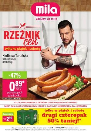 Gazetka promocyjna MILA, ważna od 14.08.2019 do 21.08.2019.