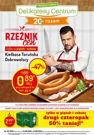 Gazetka promocyjna Delikatesy Centrum, ważna od 14.08.2019 do 21.08.2019.