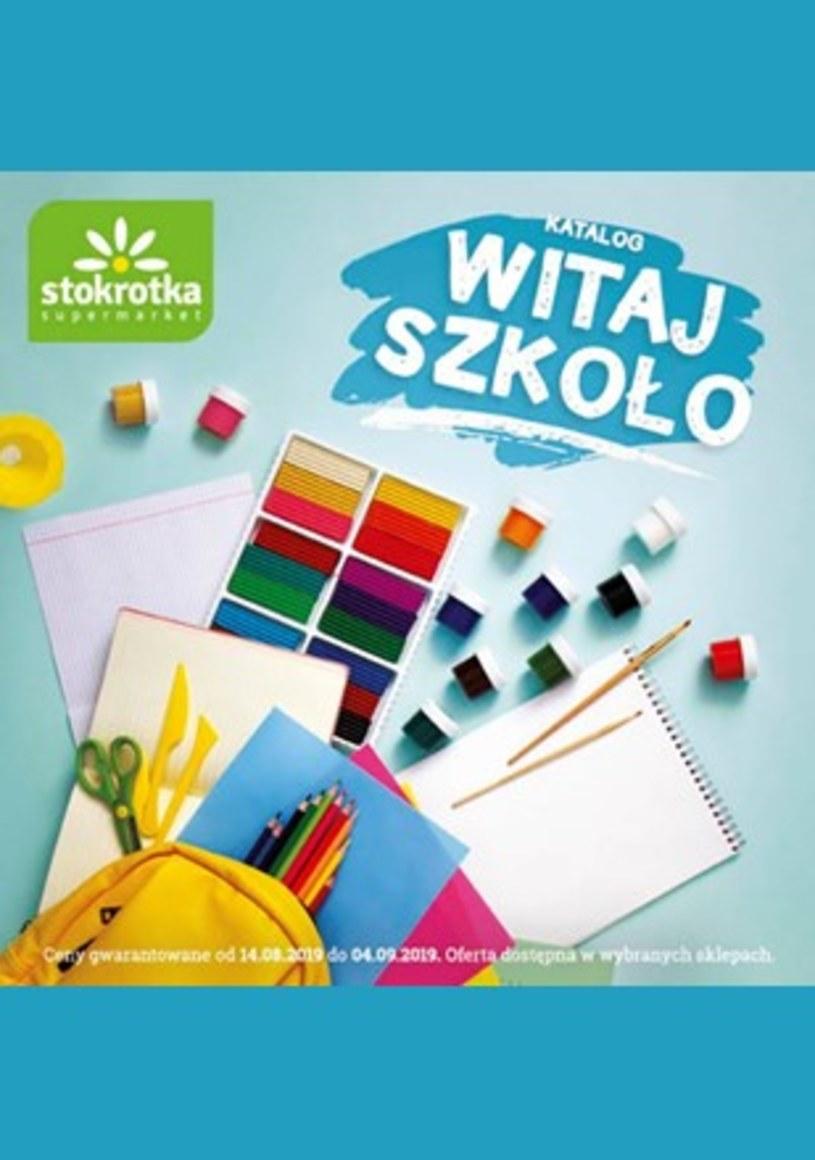 Gazetka promocyjna Stokrotka - ważna od 14. 08. 2019 do 04. 09. 2019