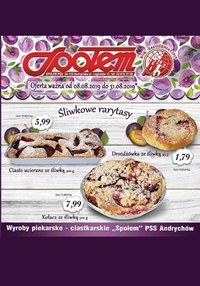 Gazetka promocyjna PSS Andrychów, ważna od 08.08.2019 do 31.08.2019.