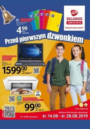 Gazetka promocyjna Selgros Cash&Carry, ważna od 14.08.2019 do 28.08.2019.