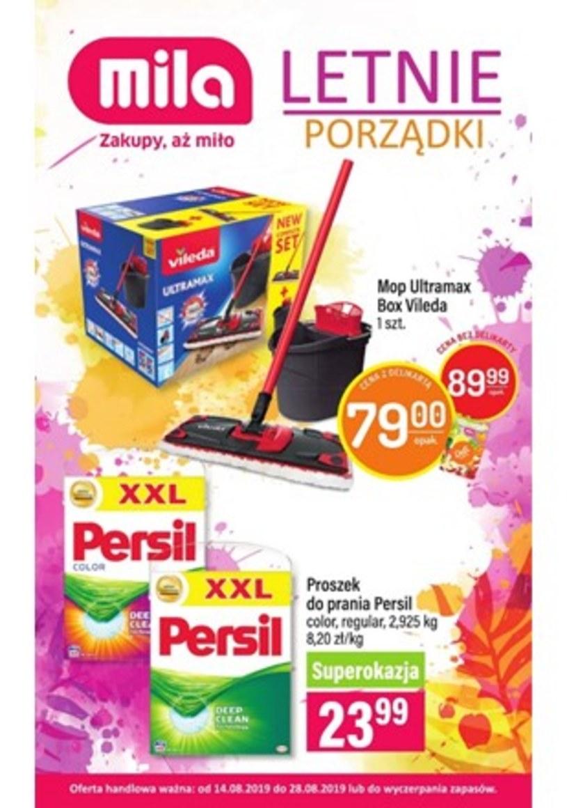 Gazetka promocyjna MILA - ważna od 14. 08. 2019 do 28. 08. 2019