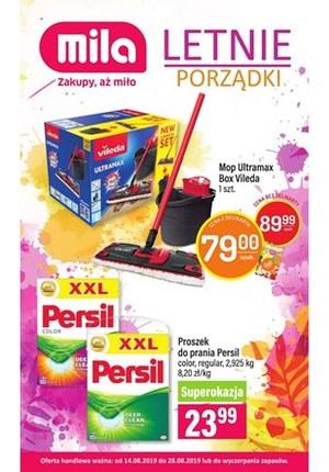 Gazetka promocyjna MILA, ważna od 14.08.2019 do 28.08.2019.