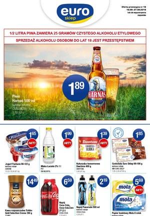 Gazetka promocyjna Euro Sklep, ważna od 16.08.2019 do 27.08.2019.