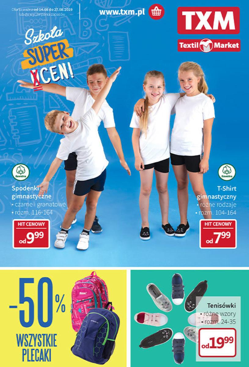 Gazetka promocyjna Textil Market - ważna od 14. 08. 2019 do 27. 08. 2019