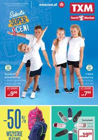 Gazetka promocyjna Textil Market - Szkoła super cen! - ważna do 27-08-2019