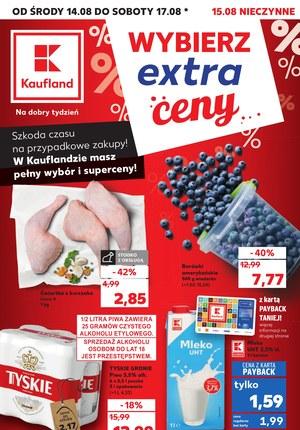 Gazetka promocyjna Kaufland, ważna od 14.08.2019 do 17.08.2019.