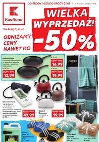 Gazetka promocyjna Kaufland, ważna od 14.08.2019 do 21.08.2019.