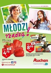 Gazetka promocyjna Auchan - Młodzi rządzą! - ważna do 21-08-2019
