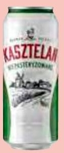 Piwo niepasteryzowane Kasztelan niska cena