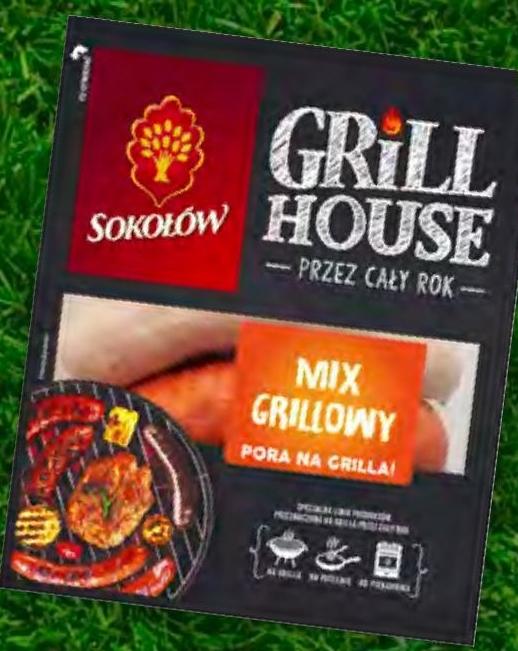 Mix kiełbas grillowych Sokołów niska cena