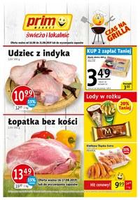 Gazetka promocyjna Prim Market, ważna od 16.08.2019 do 21.08.2019.
