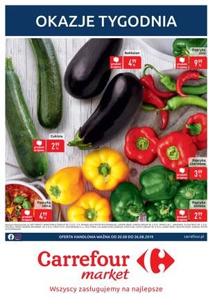 Gazetka promocyjna Carrefour Market, ważna od 20.08.2019 do 26.08.2019.