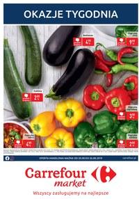 Gazetka promocyjna Carrefour Market - Okazje tygodnia  - ważna do 26-08-2019