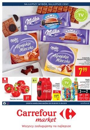 Gazetka promocyjna Carrefour Market, ważna od 20.08.2019 do 31.08.2019.