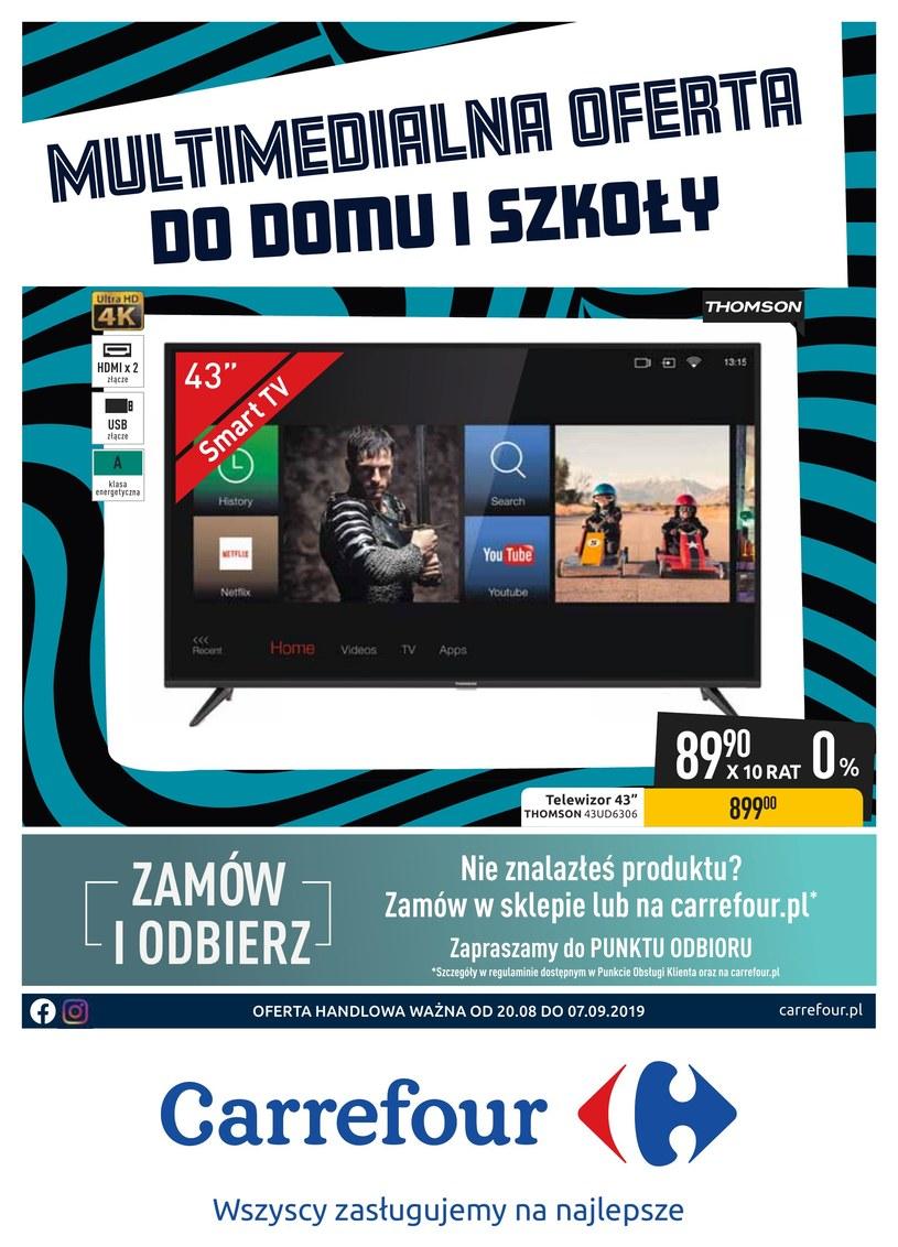 Gazetka promocyjna Carrefour - ważna od 20. 08. 2019 do 07. 09. 2019