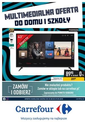 Gazetka promocyjna Carrefour, ważna od 20.08.2019 do 07.09.2019.