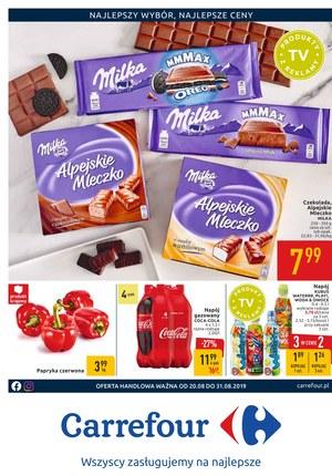 Gazetka promocyjna Carrefour, ważna od 20.08.2019 do 31.08.2019.