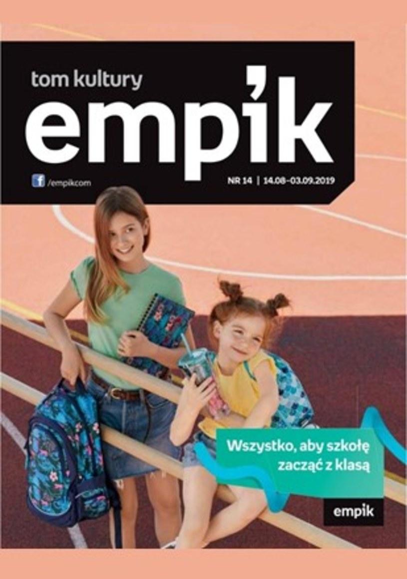 Gazetka promocyjna EMPiK - ważna od 14. 08. 2019 do 03. 09. 2019