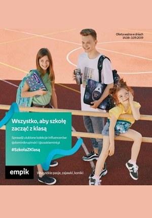Gazetka promocyjna EMPiK, ważna od 14.08.2019 do 03.09.2019.