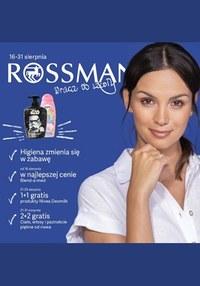 Gazetka promocyjna Rossmann, ważna od 16.08.2019 do 31.08.2019.