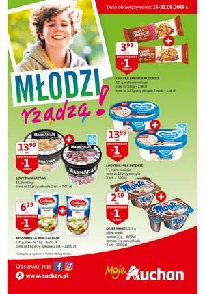 Gazetka promocyjna Auchan - Młodzi rządzą - Moje Auchan