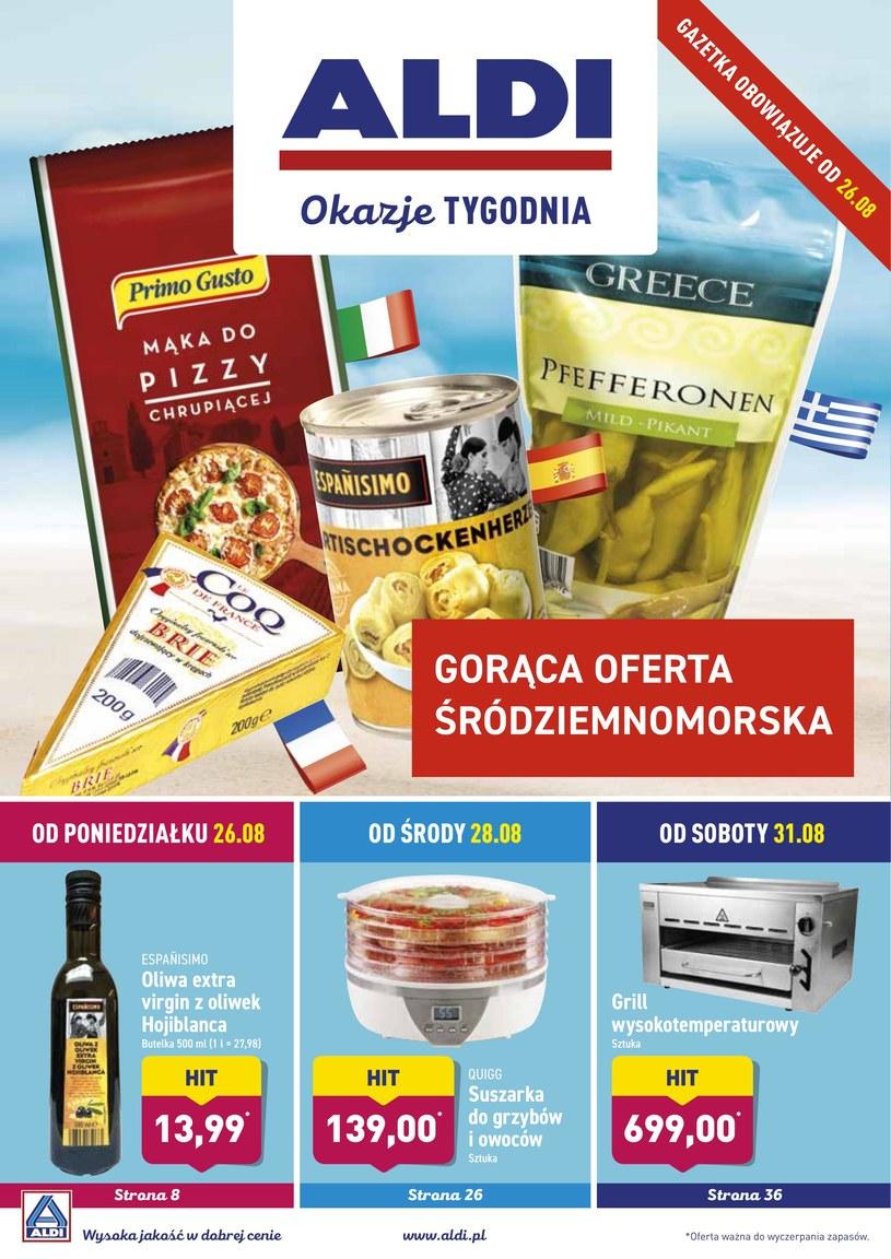 Gazetka promocyjna Aldi - ważna od 26. 08. 2019 do 31. 08. 2019