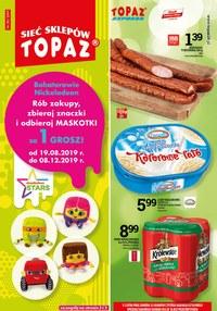 Gazetka promocyjna Topaz, ważna od 22.08.2019 do 04.09.2019.