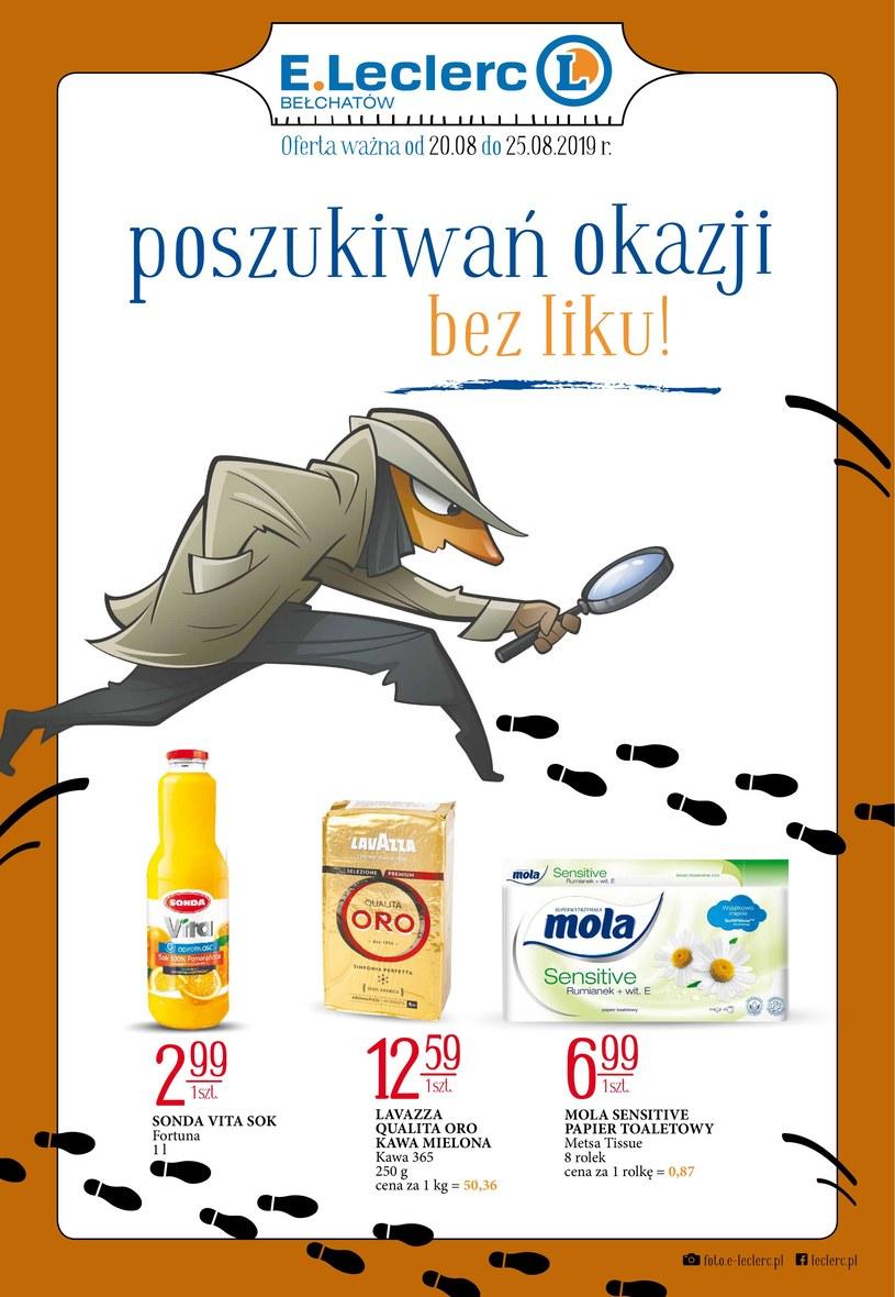 Gazetka promocyjna E.Leclerc - ważna od 20. 08. 2019 do 25. 08. 2019