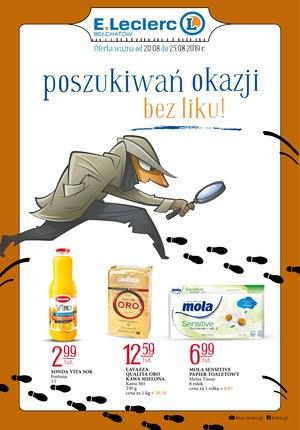 Gazetka promocyjna E.Leclerc, ważna od 20.08.2019 do 25.08.2019.